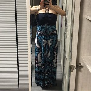 Brand new maxi tube dress with sequins